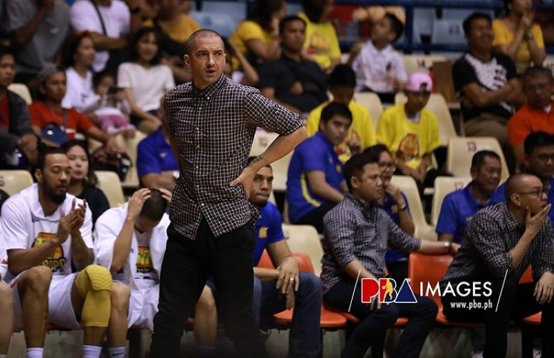 INTERIM HEAD COACH. Mark Dickel will lead the team in the opening window of the 2021 FIBA Asia Cup Qualifiers next month. (Photo courtesy of PBA)