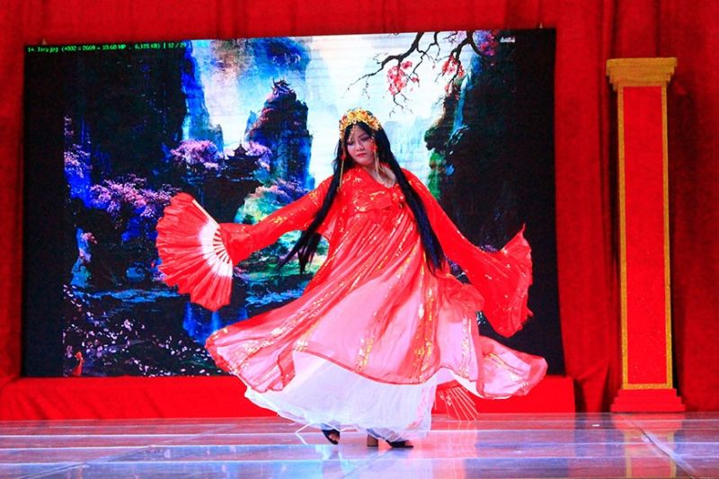 CAGAYAN DE ORO. Cosplay competition takes center stage during the culmination of the week-long Chinese New Year celebration in Cagayan de Oro. (Joan Sablad)