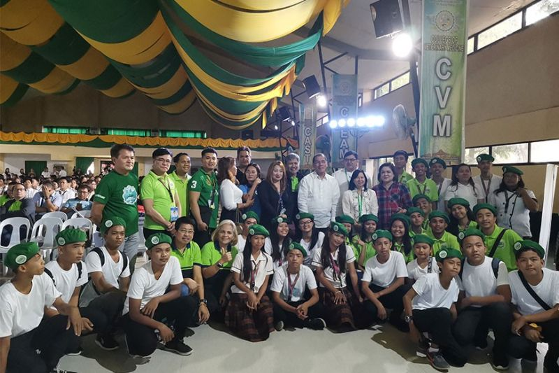 PAMPANGA. The Pampanga Green Youth Army hopes other provinces in the country benchmark the initiative to engage youth in green activities for environment and food security awareness. (Pampanga PIO)