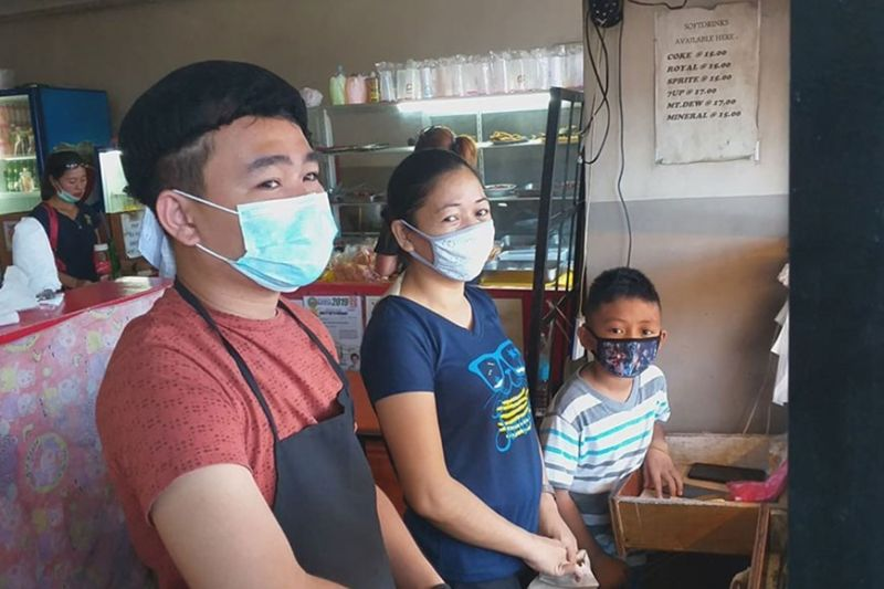 Ncov Supply Runs - Scare; Many Wear Amid Sunstar Masks Bacolodnons Out
