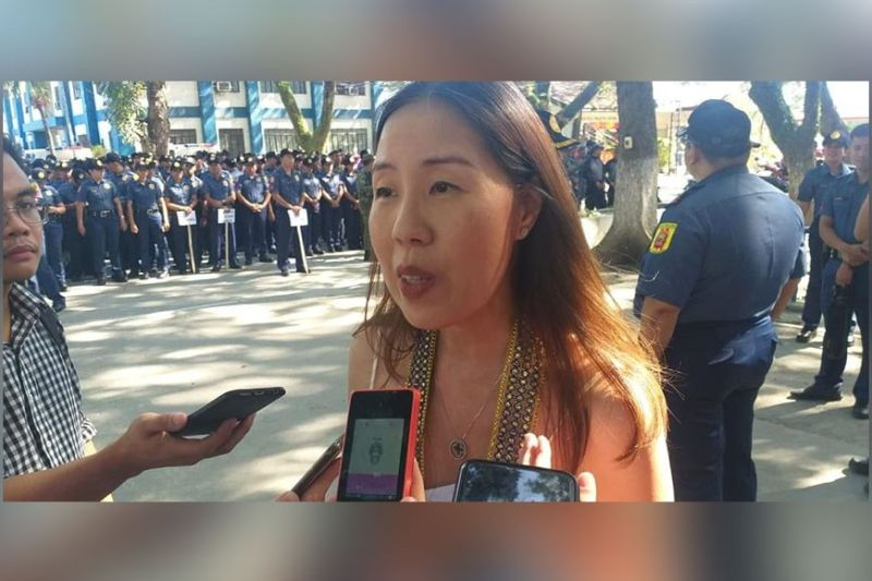 15th Bacolaodiat Festival Chairperson Oddette Ong-Gomez. (Erwin Nicavera)