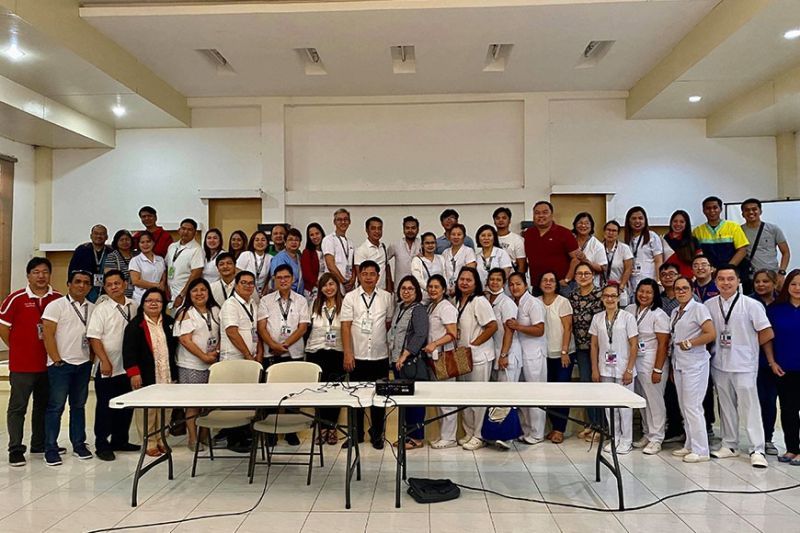 PAMPANGA. Medical personnel from different district hospitals and health representatives from Angeles City and Clark Development Corporation attend the an inter-agency and hospital training on Monday, February 3, 2020, to prepare the province against the treat of the 2019-nCoV ARD. (Pampanga PIO)