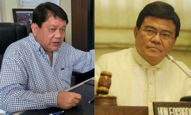 CEBU. Former Cebu City mayor Tomas Osmeña (left) and Cebu City Mayor Edgardo Labella. (SunStar file)