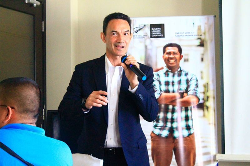 CAGAYAN DE ORO. The New Zealand Government has opened its applications for post-graduate scholarships for school year 2021, Ambassador-designate Peter Kell announced last Tuesday, February 4, in a press conference in Mallberry Suites, Cagayan de Oro City. (Jo Ann Sablad)