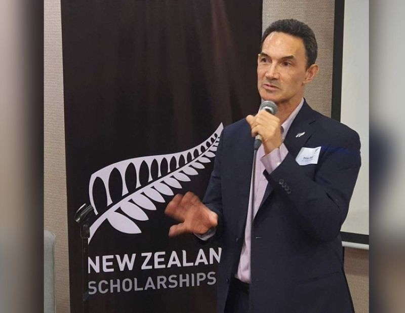 STRENTHENING TIES. New Zealand Ambassador-designate Peter Kell says education is another ticket for two countries to strengthen their bilateral relations.  <b>(Arni Aclao)</b>