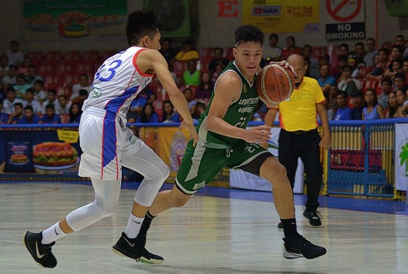 The UV Baby Lancers nabbed the top spot in bracket B of the SM-NBTC League Cebu City qualifier. (Cesafi Media Bureau)
