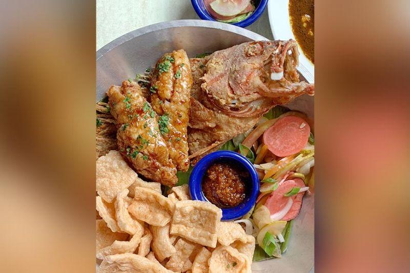 DAVAO. Fried Lapu-Lapu with Honey Bagoong Glaze. (Rhona Goc-ong-Villariasa)