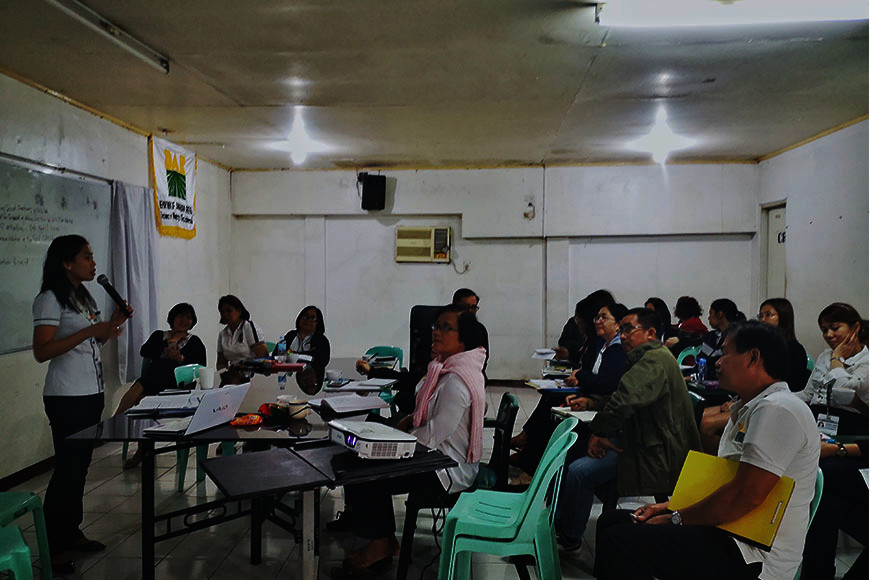 BACOLOD. The Gender and Development analysis and tools training for DAR-Negros Occidental's executives and spokespersons held in Bacolod City Monday, February 10, 2020. (Contributed Photo)