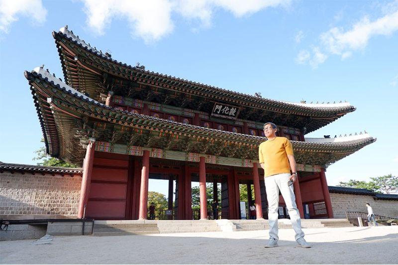 The 1412-built Donhwamun Gate, the main gate of the Changdeokgung Palace. (Photo by Jinggoy I. Salvador)