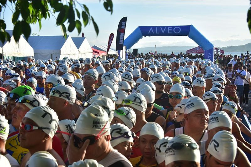 DAVAO. Organizers of the 3rd Alveo Ironman 70.3 Davao, in an official statement issued February 11, rescheduled the race from March 22 to May 10 due to the novel coronavirus (nCoV) scare. (File photo/Macky Lim)