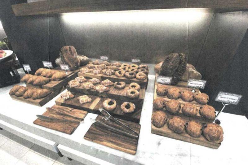 Breakfast spread at Abaca Baking Company.