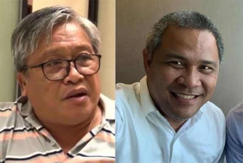 CEBU. Former Cebu City councilor Jun Alcover (left) and Cebu City Administrator Atty. Floro Casas Jr. (Photos from Casas's Facebook account and SunStar)