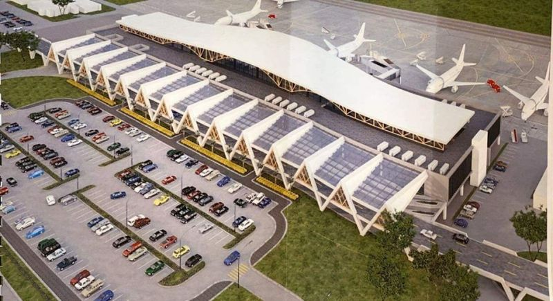 LEYTE. Project design of the new DZR Airport in Tacloban City. (Contributed photo)