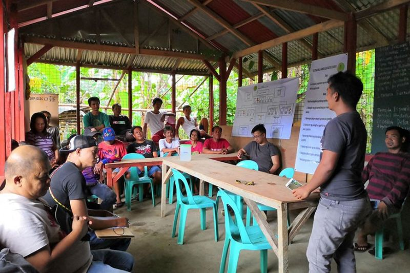 NEGROS. Organic rice production site validation for Sta. Rosa Small Farmers Association at Purok Old Barrio, Barangay Sta. Rosa in Murcia town recently. (Contributed Photo)