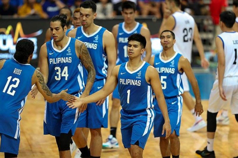 MANILA. Gilas Pilipinas' hosting of the FIBA Asia Cup 2021 Qualifiers' first window has been postponed. (Gilas Pilipinas Facebook page)