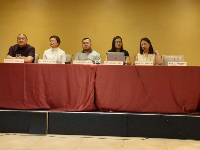 CAGAYAN DE ORO. Major stockholders of the Rural Transit Mindanao Inc. (RTMI), one of the companies under Yanson Group of Bus Companies, convened for its annual stockholders' meeting at a hotel in Cagayan de Oro City on Wednesday, February 12. (Photo by Alwen Saliring)