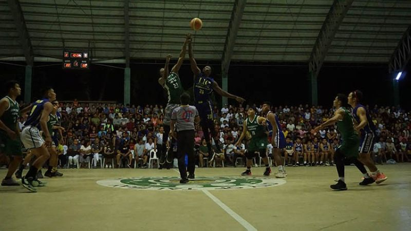 UV and UC, seen here playing in an exhibition game last weekend, will compete in the 1st Uy Masuy Cup. (Photo courtesy of Talisay City Sports Commission)