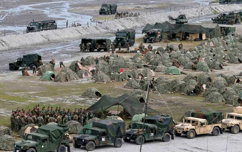 Balikatan exercises in 2016 held in Crow Valley, Capas, Tarlac. (AP File)