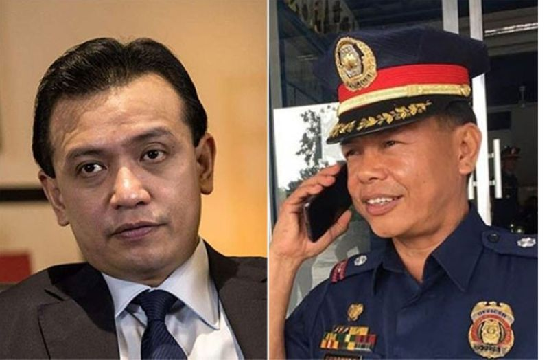 MANILA. Former senator Antonio Trillanes IV (left) and Lieutenant Colonel Jovie Espenido. (SunStar File)