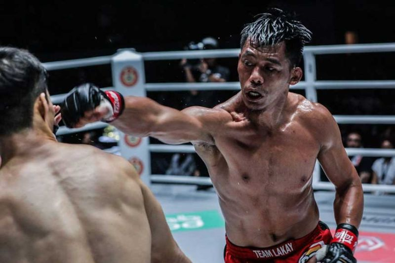 BAGUIO. After making an impressive run as a lightweight, Honorio Banario shifts back as a featherweight when he returns to ONE Championship on February 28. (ONE Championship photo)