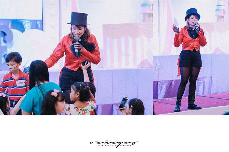 Cosplay Host & Magician, Patricia Moreno of Showman Entertainment (Contributed photo)