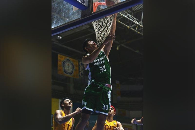 Melvin Butohan scored 17 points for UV in their win against SWU-Phinma. / Cesafi Media Bureau