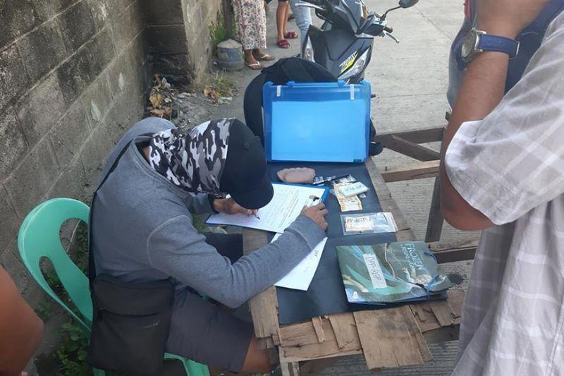 Seized drugs in San Juan Street, Purok Lampirong, Barangay 2, Bacolod City. (BCPO photo)