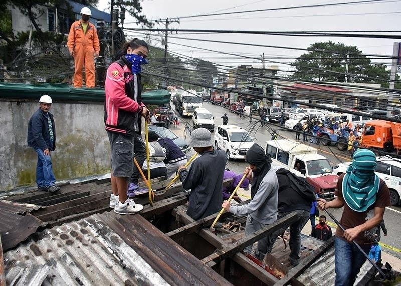Road clearing in Benguet (File Photo)