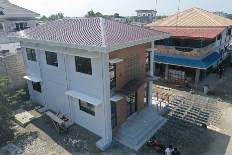 PAMPANGA. The Department of Public Works and Highways built five new buildings for senior citizens in Nueva Ecija that can host social activities of the elderly. (Courtesy of DPWH)