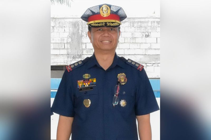 ILOILO. Police Colonel Marlon Tayaba. (Photo courtesy of PRO-Western Visayas)
