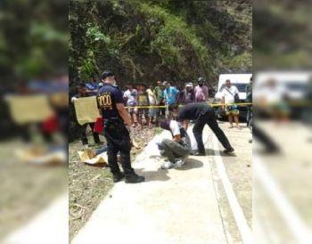CEBU. Usa ka wa mailhing lalake ang napalgang patay sa Sitio Campo 5, Barangay Manipis, Siyudad sa Talisay Miyerkules sa buntag, Pebrero 19, 2020. (Tampo nga Hulagway)