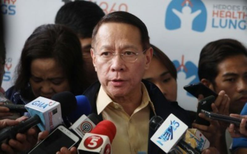 Health Secretary Francisco Duque III (PNA photo)
