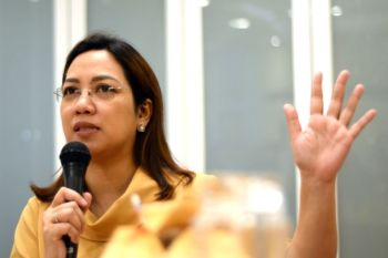 Former Department of Health (DOH) and Iloilo First District Representative Janette Loreto-Garin. (Photo by Leo Solinap)  onerror=