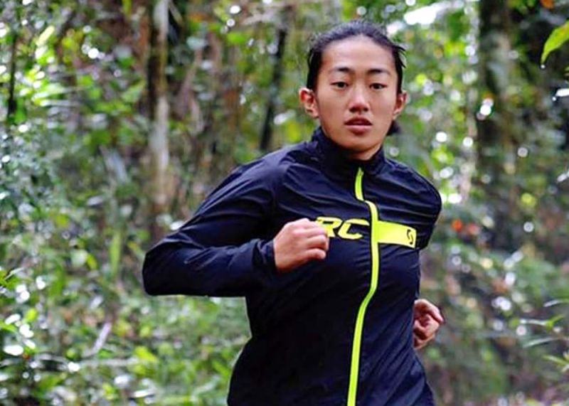 BENGUET. After trying obstacle course during the SEA Games, Sandi Menchi Abahan returns to her first love winning in the women's division in the 30-kilometer event of the 2020 Marikit-Pigingan Trail Race held February 16 in Dalupirip, Itogon, Benguet. (File photo)