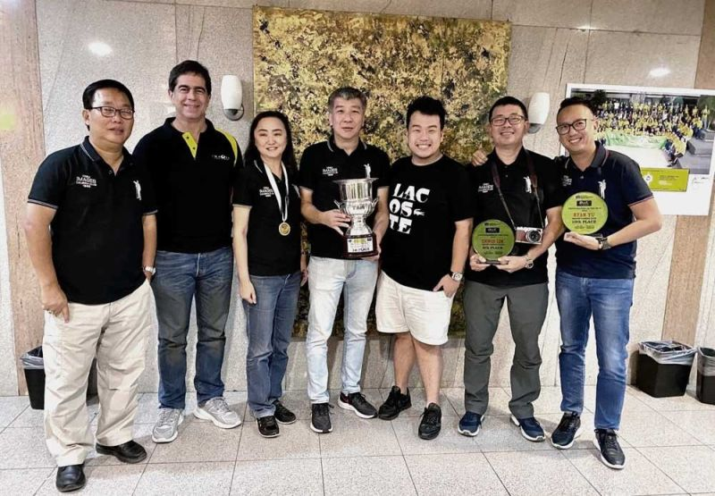 CAMERA CLUB OF THE YEAR AWARD 2019. Carlito So, Dondi Joseph, Regie Uy, Sidney Dyguani, Dan Douglas Ong, Erwin Lim and Ryan Yu.
