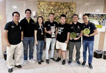 CAMERA CLUB OF THE YEAR AWARD 2019. Carlito So, Dondi Joseph, Regie Uy, Sidney Dyguani, Dan Douglas Ong, Erwin Lim and Ryan Yu.