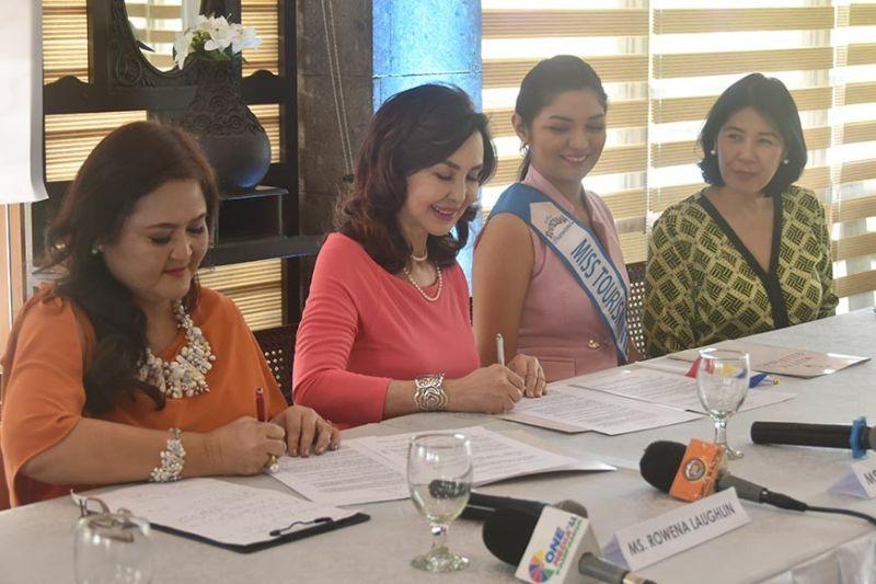 PAMPANGA. Socorro Alicia Rastrollo Quirino launched Mutya Pilipinas-Pampanga during a press conference held at Imang Nene Kapampangan Cuisine, Orchid Gardens Resort Complex, City of San Fernando. (PR)