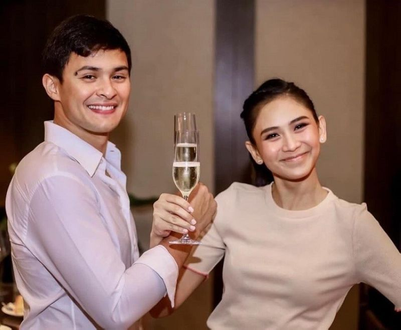 HAPPY COUPLE.  Matteo Guidicelli finally broke his silence online six days after his infamous wedding with Popstar Royalty Sarah Geronimo, as he addressed issues surrounding the event and thanked fans for their support on Wednesday, February 26, 2020. (Photo from Matteo Guidicelli's Instagram account)