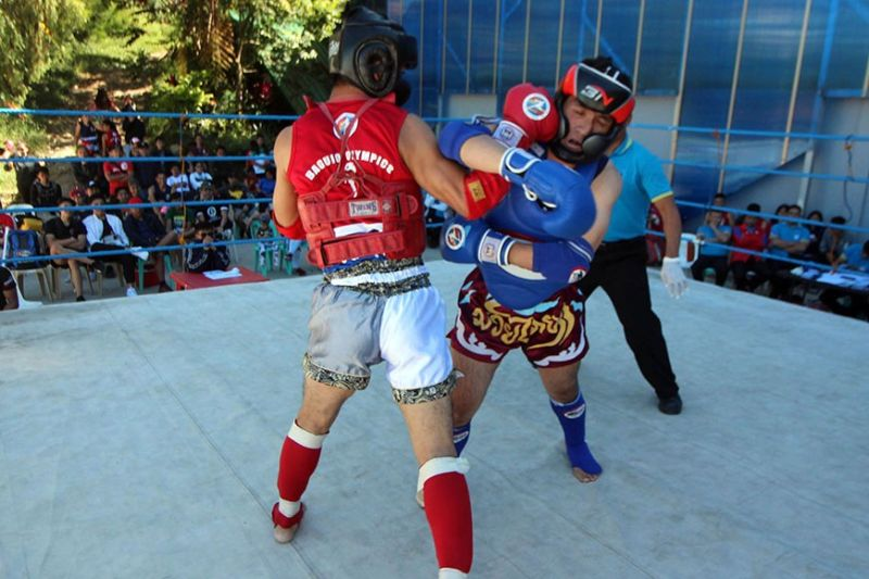 BAGUIO. At least 100 Muay Thai practitioners from all over Cordillera and nearby regions are expected to join the tournament set February 28 to March 1 at the Baguio Athletic Bowl organized by Baguio Olympics. (Photo by Jean Nicole Cortes)