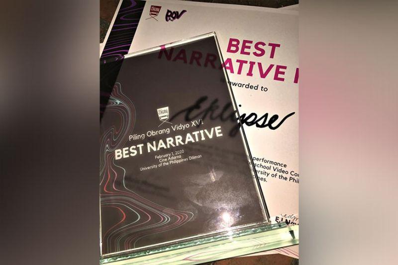Eklipse POV awards (Contributed photo)