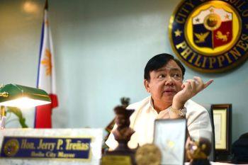 ILOILO. Iloilo City Mayor Jerry Treñas. (Leo Solinap)
