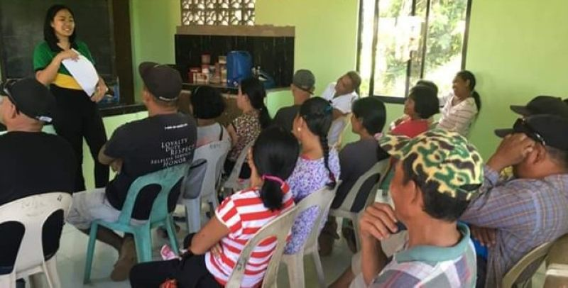 BACOLOD. DAR-Negros Occidental I gives loan counseling to farmer-members of an agrarian reform beneficiaries organization in the northern part of the province recently. (Contributed Photo)