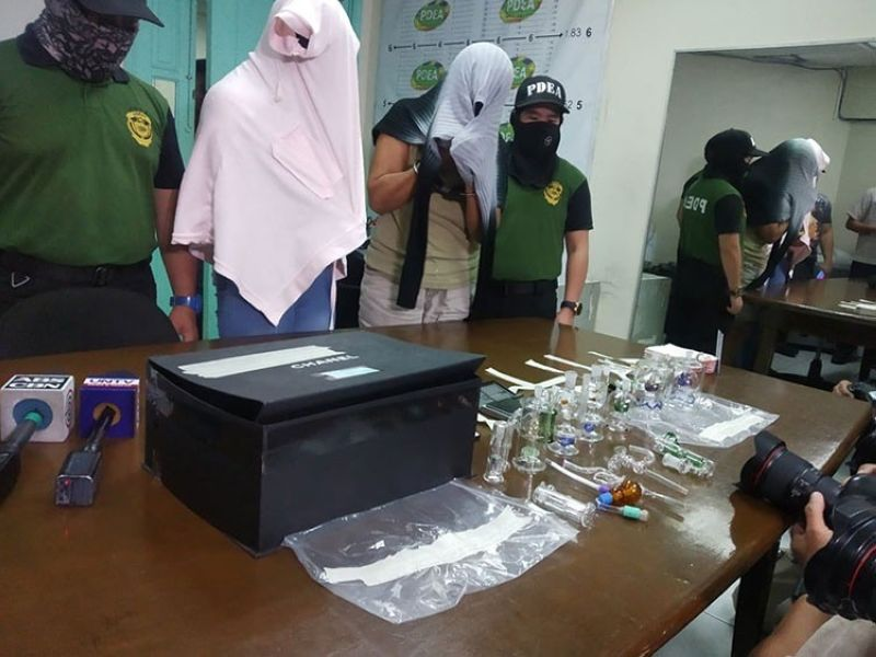 Photo from the Philippine Drug Enforcement Agency