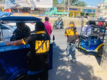 CAGAYAN DE ORO. The City Government has penalized 100 illegal tricycles plying the national highways in response to the DILG's directive to rid national highways of the illegal tricycles, pedicabs and