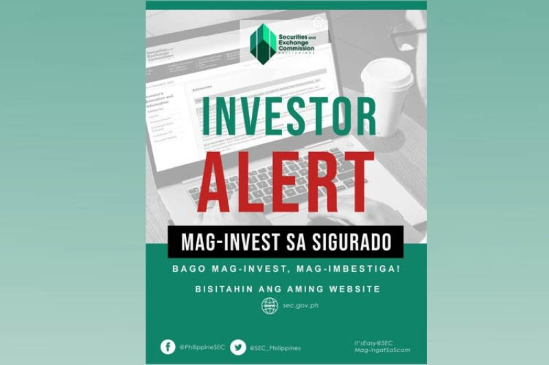 Image grabbed from Securities and Exchange Commission Philippines' Facebook