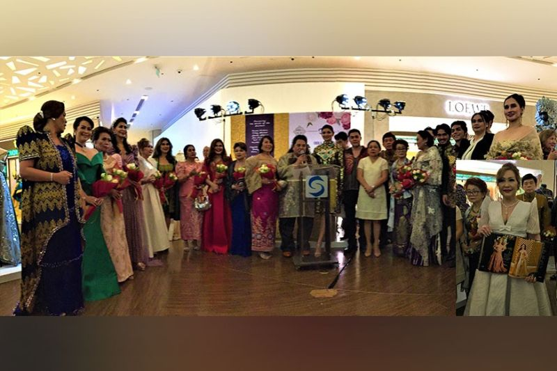 The fashion muses and patrons who graced the exhibit were Ida Marco, Belen Lizaso, Marilyn Altarejos, Becky Garcia, Jessie Maloles, Lynette Guzman, Dr. Diana Payawal and Dr. Aurora Perez. Meantime, those who modeled and performed were Tess Castro, Dr. Sixta Foronda, Rose Licup, Joyce Pilarsky, Maru Go, Laarni Roque, Carissa Singson, sopranos Dr. Tonton Pascual and Kathy Mas.  Men of Purpose and Panache included Mars Lambino, Edgar Selva, Tenors Sherwin Sozon, Mike Austria, Al Gatmaitan, Dr. Homer Mendoza, and Vince Conrad. (Photo by Osharé)
