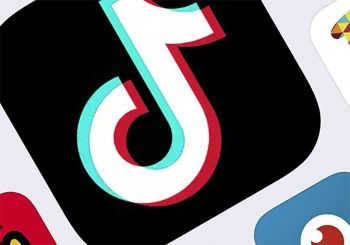 NEW YORK. This February 25 photo shows the icon for TikTok taken in New York. (AP)