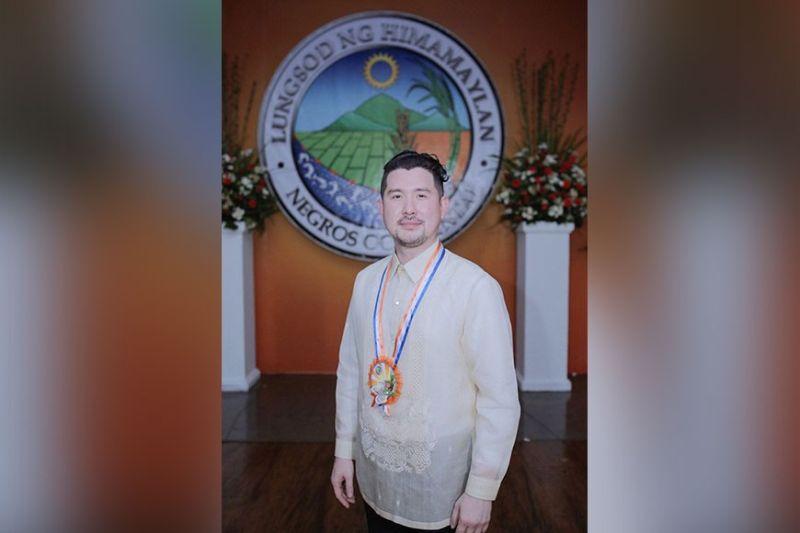 Himamaylan City Vice Mayor Justin Gatuslao (Contributed photo)