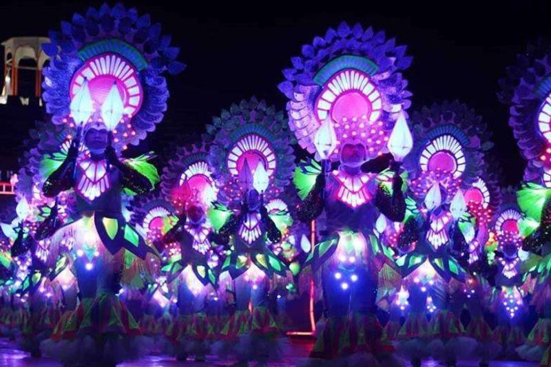 NEGROS. Bailes de Luces Festival of La Castellana. (File photo)