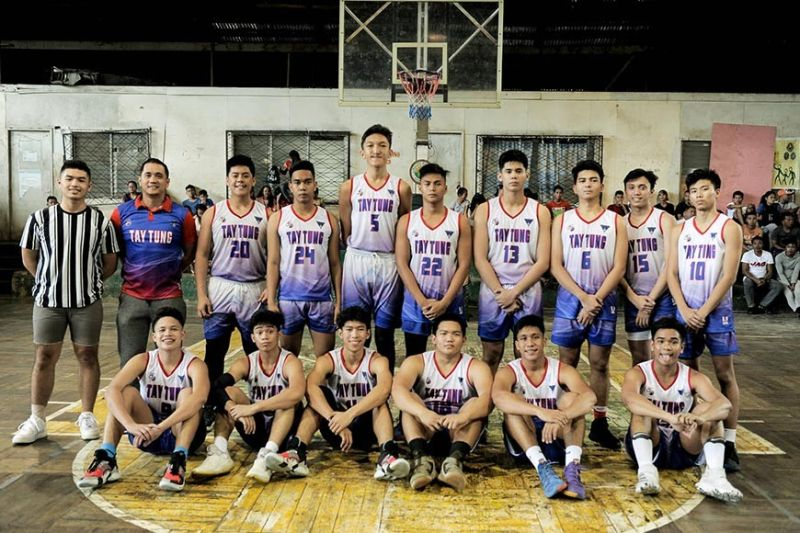 NBTC-Bacolod champions Bacolod Tay Tung High School Thunderbolts. (Jack Gallardo Photo)